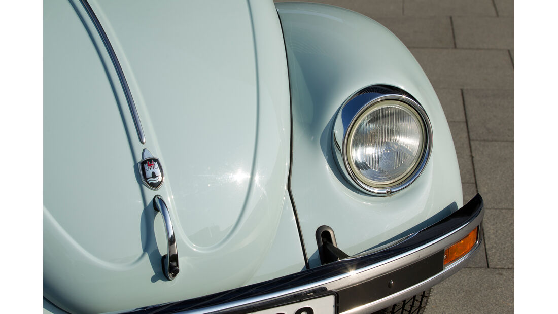 Volkswagen Mexico-Käfer, Fronthaube, Frontlicht