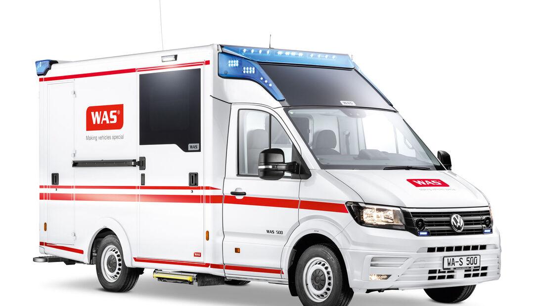 Volkswagen Nutzfahrzeuge Rettmobil Messe 2017 Fulda