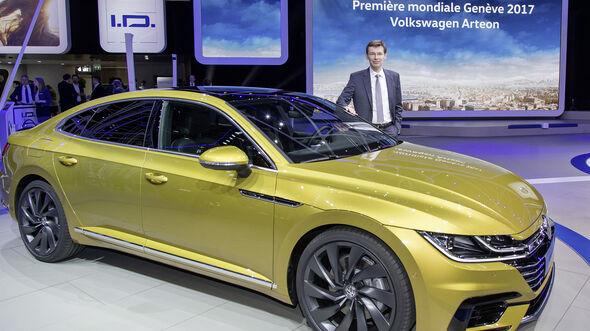 Volkswagen Pressekonferenz auf dem Genfer Automobilsalon 2017