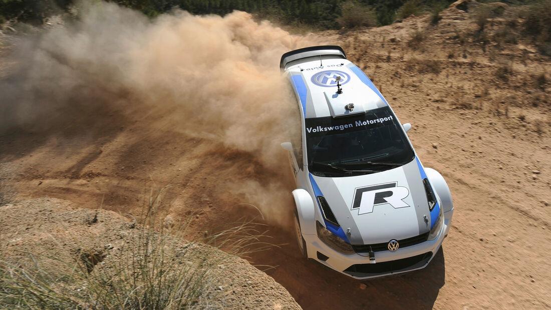 Volkswagen Rallye Spanien 2013 Test