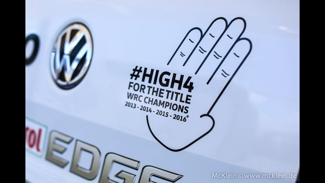 Volkswagen - WRC Australien 2016