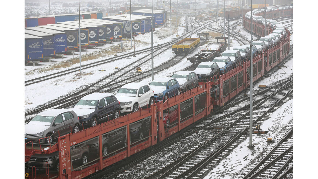 Volkswagen Werk Wolfsburg/Verladebahnhof