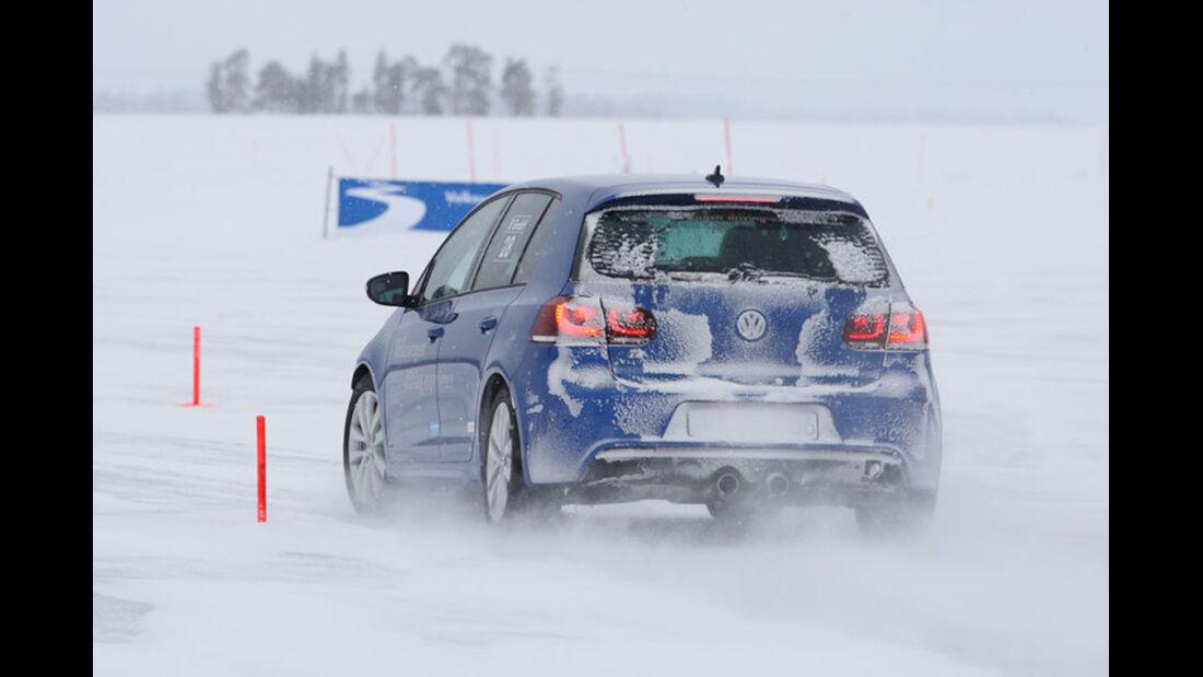 Volkswagen driving experience winter
