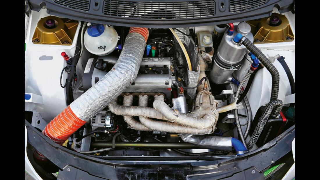 Volland-Skoda Fabia S 1600 Rallycross, Motor
