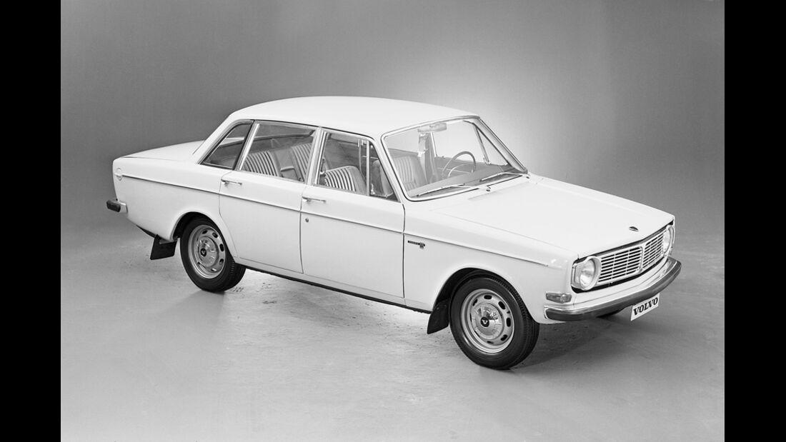 Volvo 140, Seitenansicht