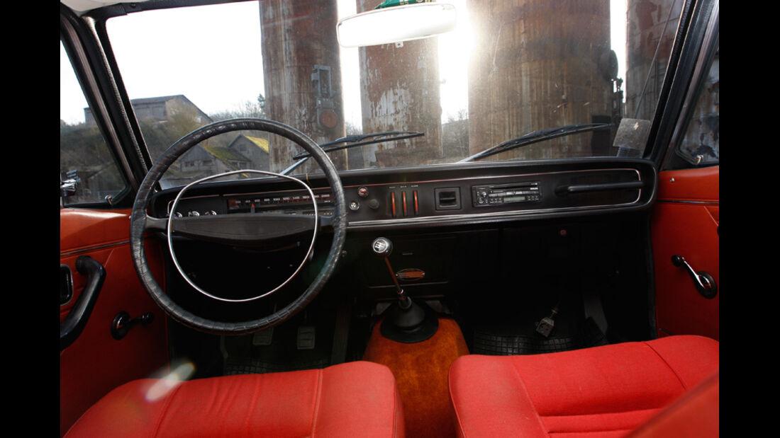 Volvo 144, Cockpit, Lenkrad