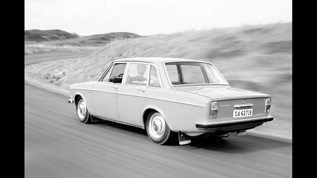 Volvo 144, Heck