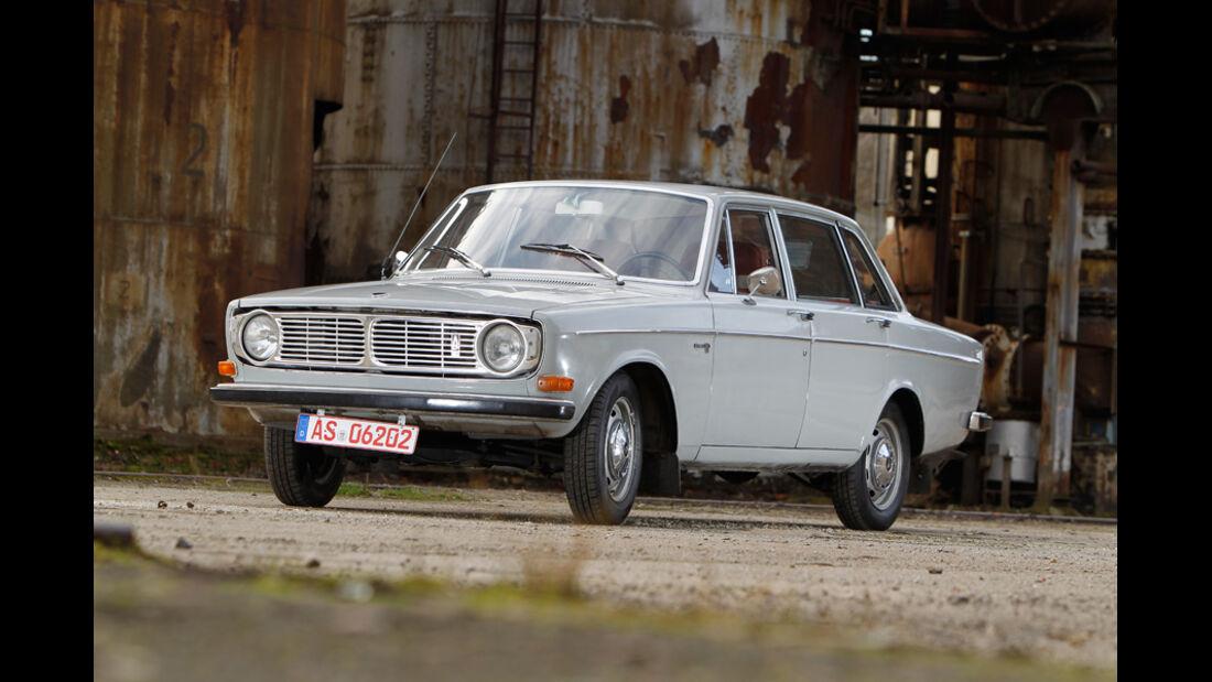 Volvo 144, Seitenansicht