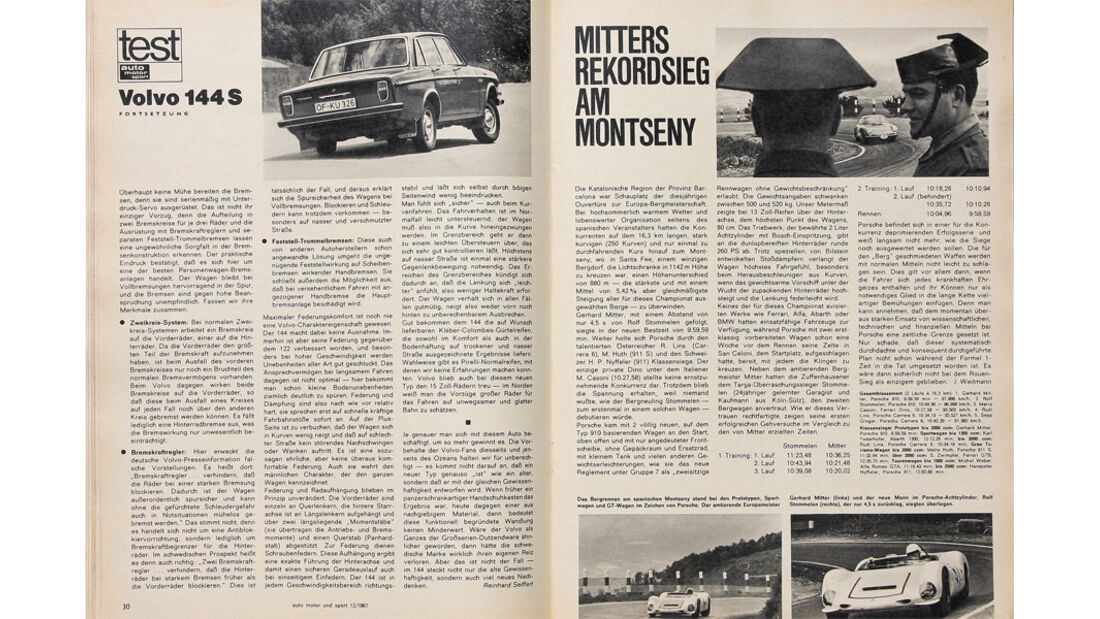 Volvo 144, alter Artikel