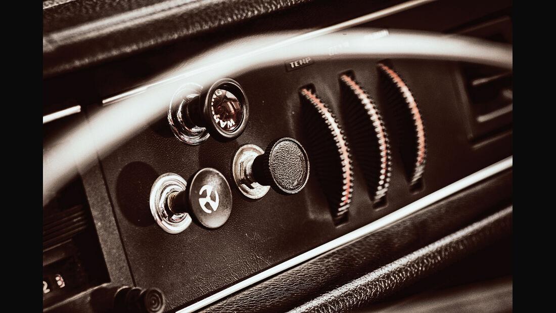 Volvo 144 de Luxe, Bedienelemente