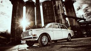 Volvo 144 de Luxe, Frontansicht
