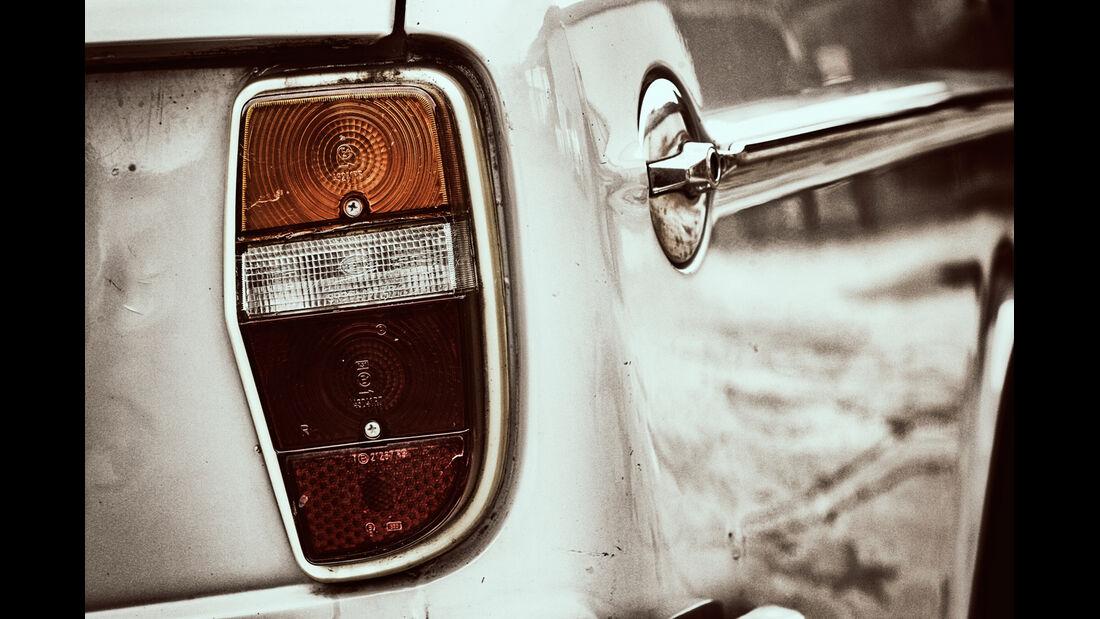 Volvo 144 de Luxe, Heckleuchte, Rücklicht
