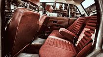 Volvo 144 de Luxe, Rückbank