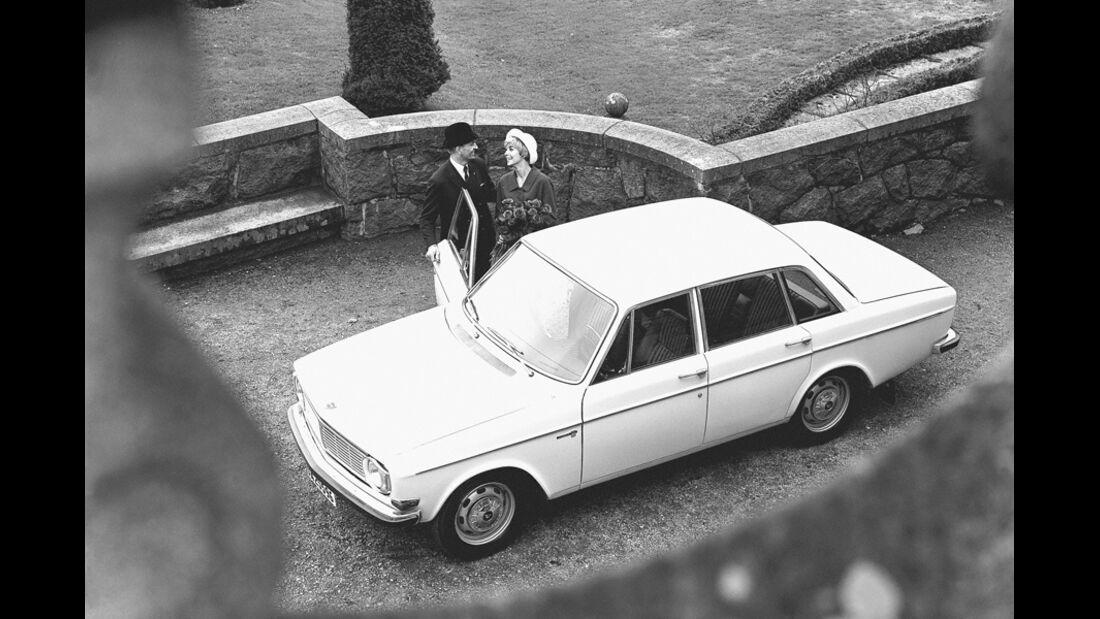 Volvo 144, von oben