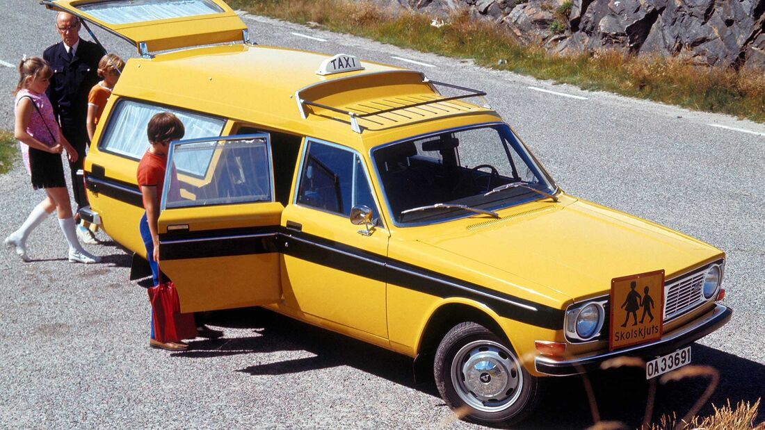 Volvo 145 Express Taxi