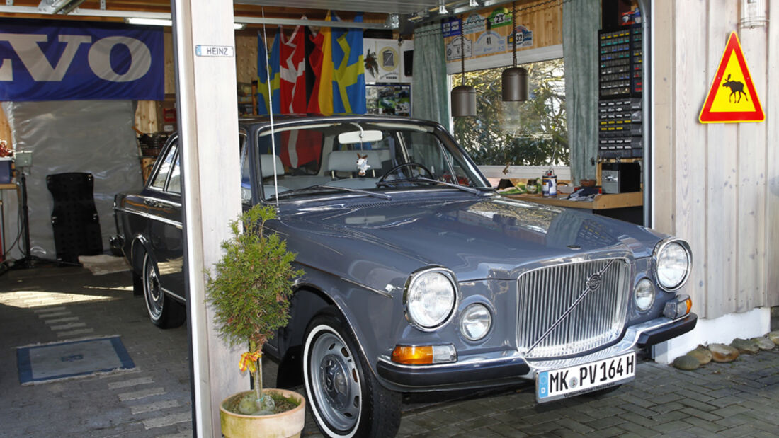 Volvo 164, Garage, Frontbild