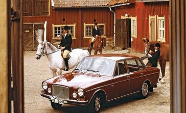 Volvo 164, Seitenansicht