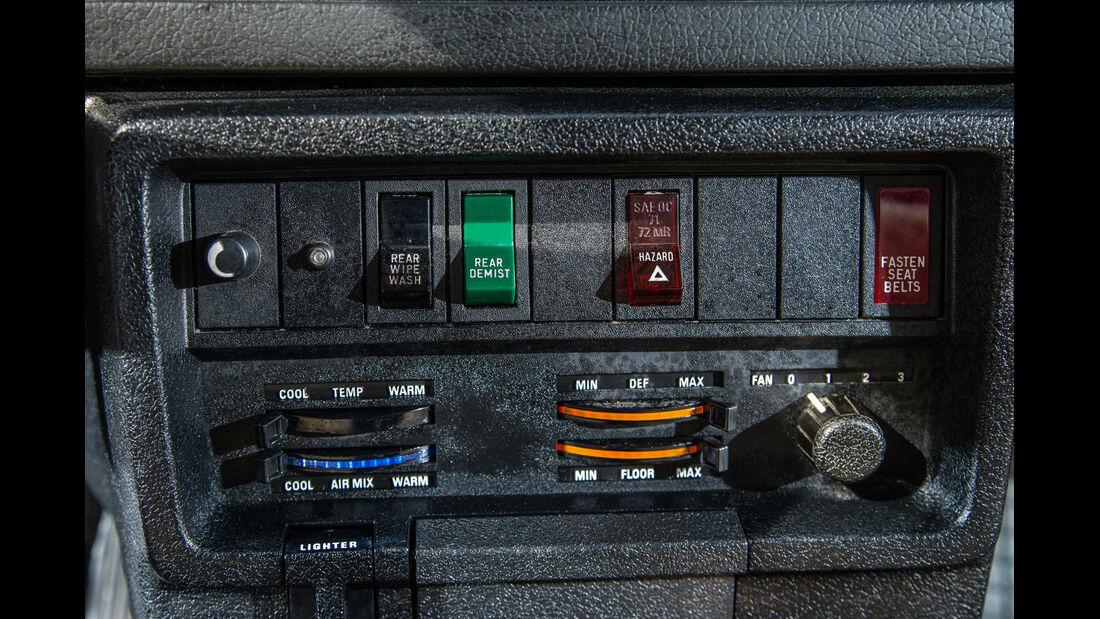 Volvo 240/242/244/245, Bedienelemente