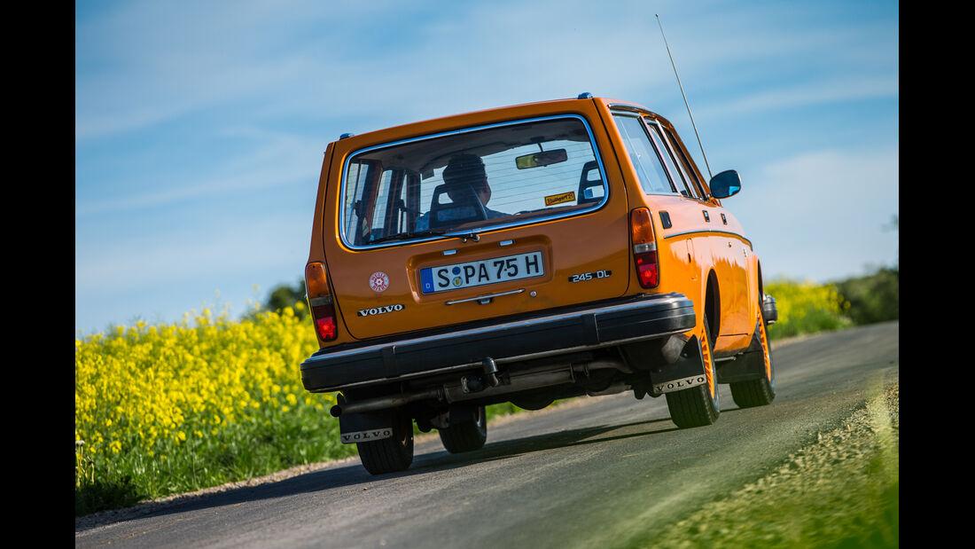 Volvo 240/242/244/245, Heckansicht