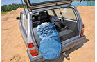 Volvo 240, Kofferraum, Ladefläche
