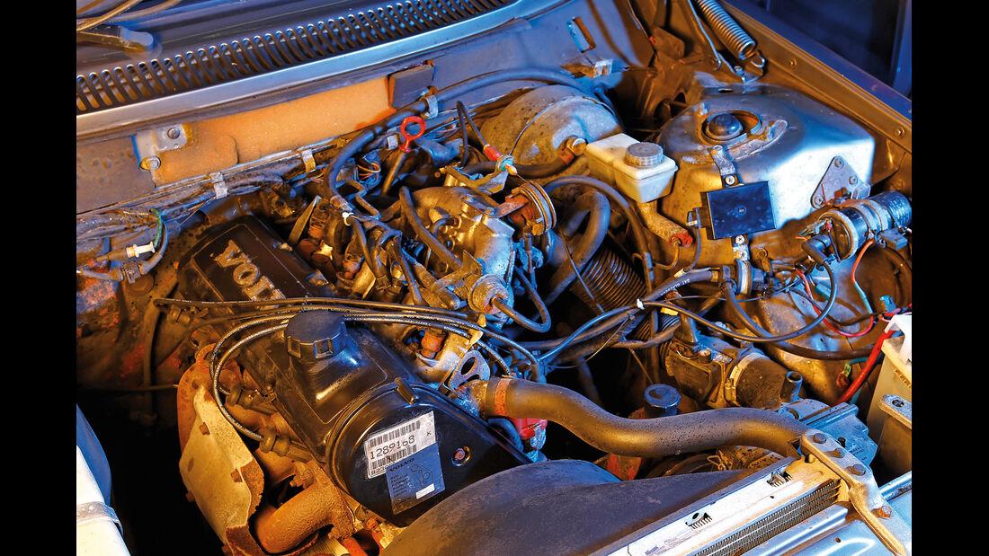 Volvo 240, Motor
