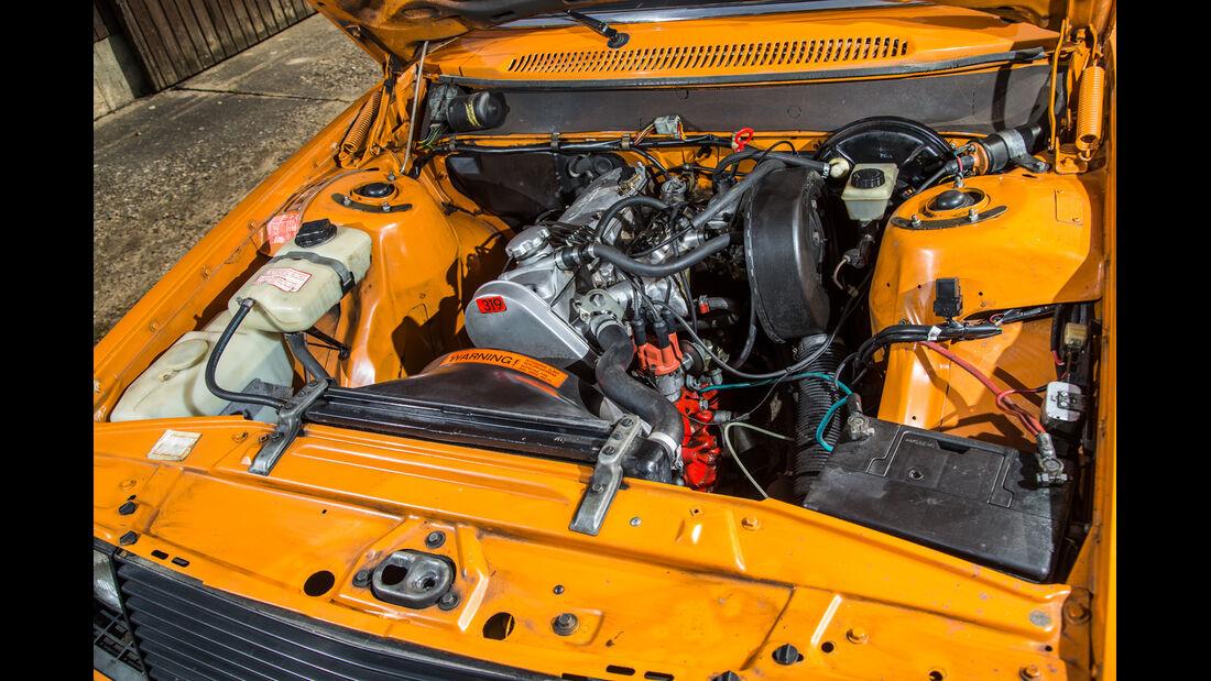 Volvo 245, Motor