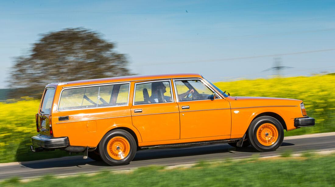 Volvo 245, Seitenansicht