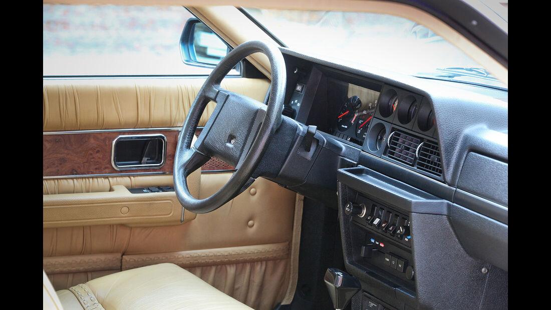 Volvo 262C Bertone 1981 David Bowie Interieur