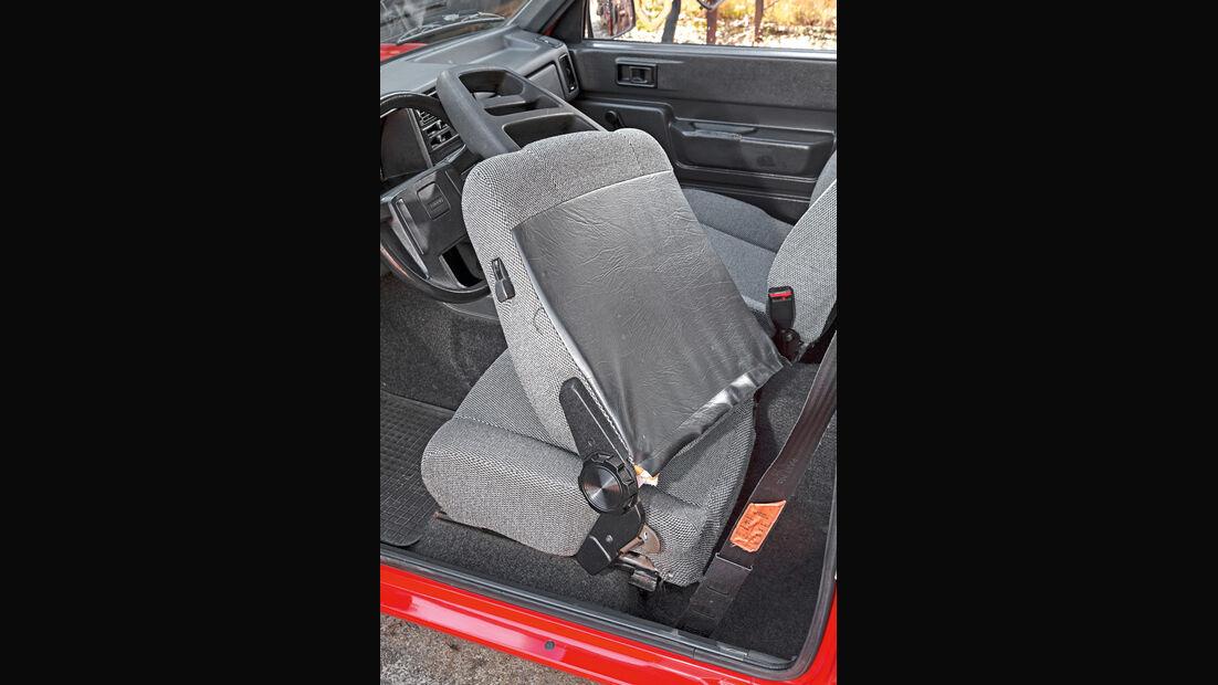 Volvo 343L, Fahrersitz