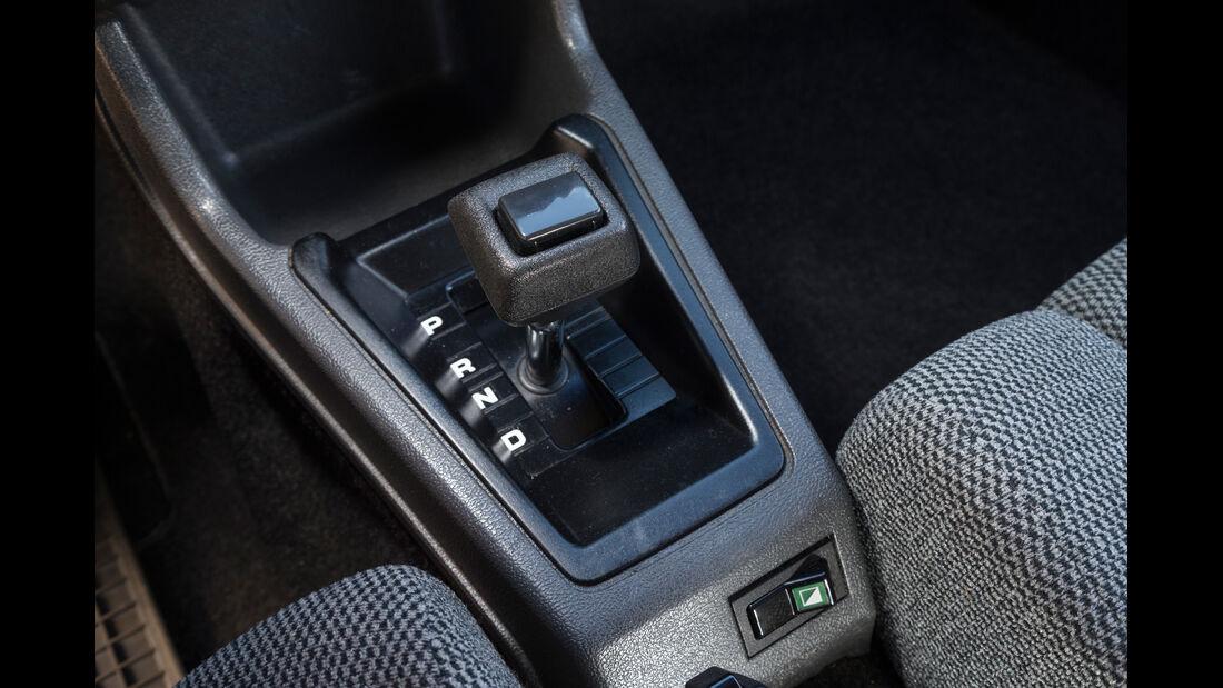 Volvo 343L, Schalthebel