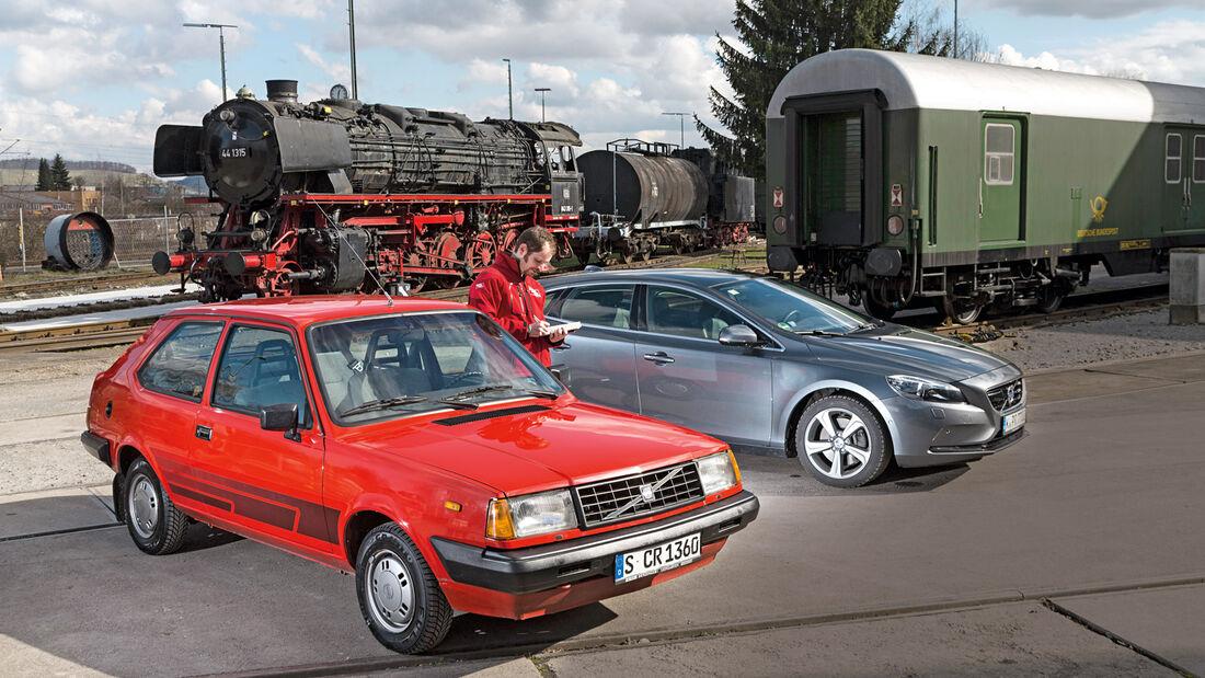 Volvo 343L, Volvo V40 D3, Frontansicht