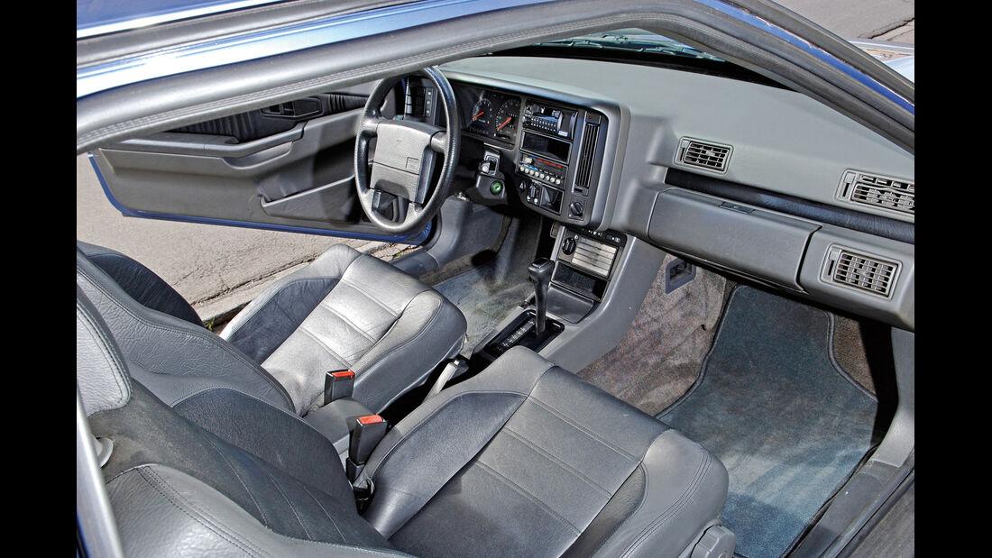 Volvo 480 S, Cockpit