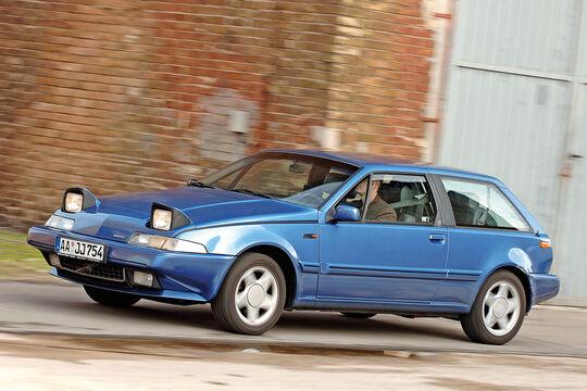 Volvo 480 S, Seitenansicht