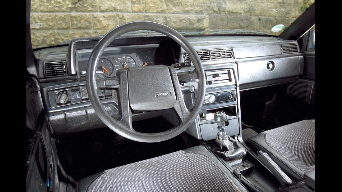 Volvo 740 GLT 16 V, Cockpit, Lenkrad