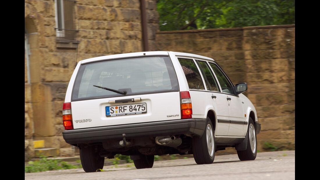 Volvo 740 GLT 16 V, Heckansicht