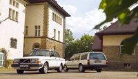 Volvo 740 GLT 16 V, Seitenansicht