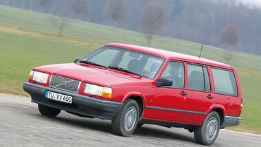 Volvo 740 Kombi, Frontansicht