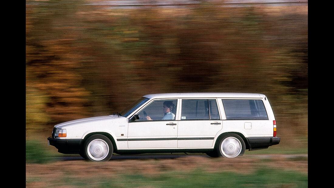 Volvo 740 Kombi, Seitenansicht