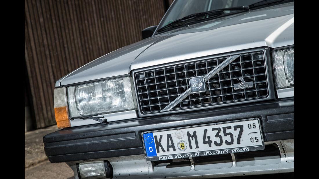 Volvo 740, Kühlergrill