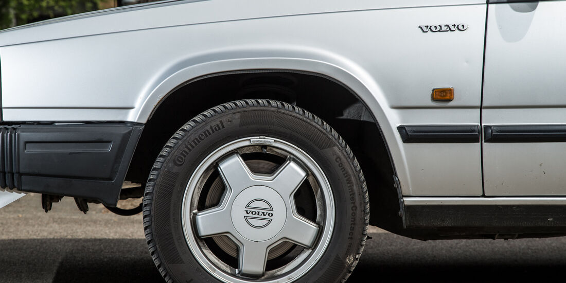 Volvo 740, Rad, Felge
