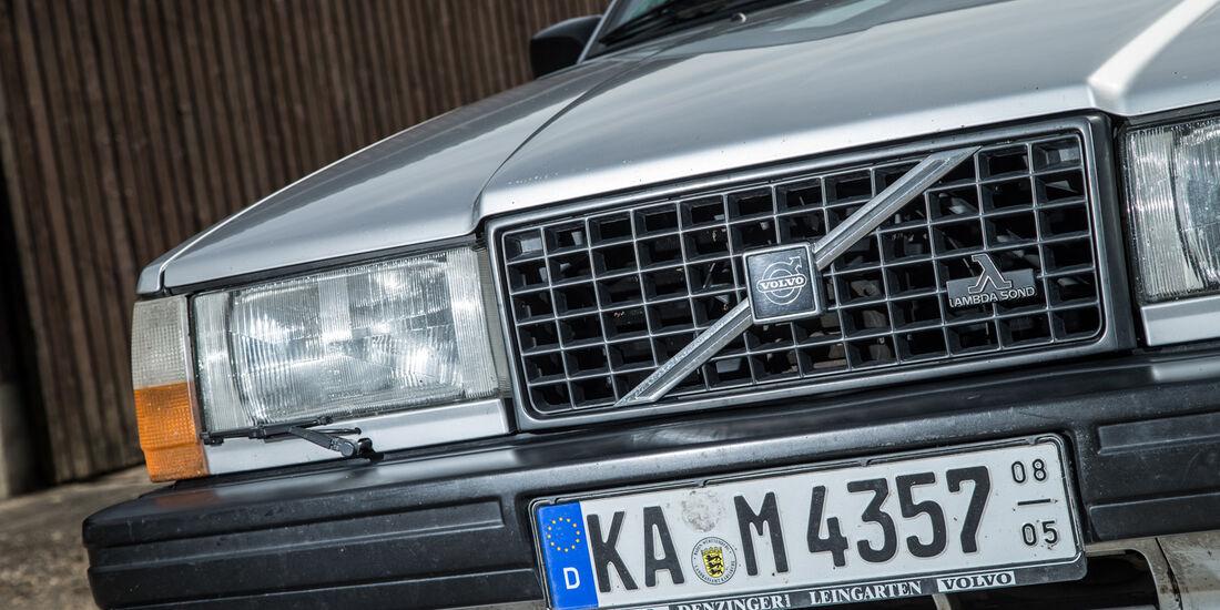 Volvo 740 Turbo Intercooler, Kühlergrill, Frontscheinwerfer