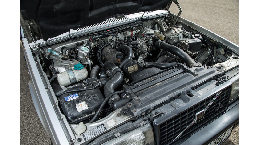 Volvo 740 Turbo Intercooler, Motor