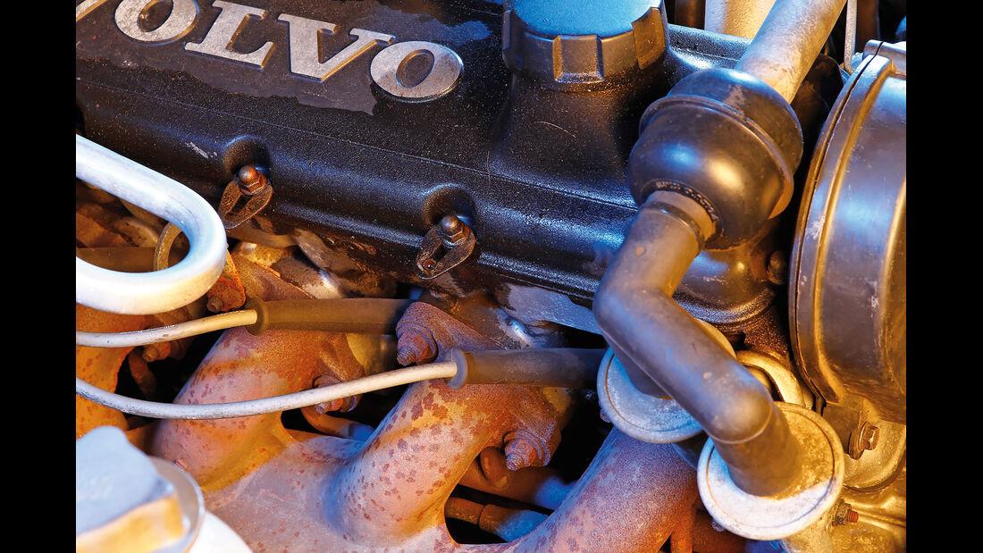 Volvo 740 und 760 Benziner, Abgaskrümmer
