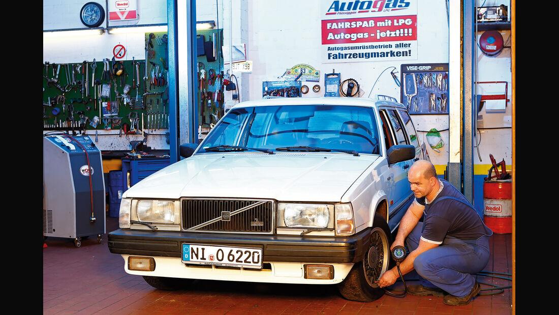 Volvo 740 und 760 Benziner, Frontansicht