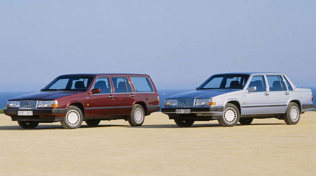 Volvo 760 GLE, 1989