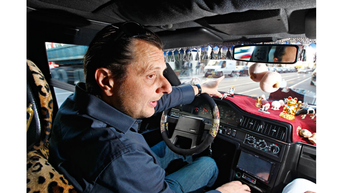 Volvo 760 GLE, Broder, Cockpit