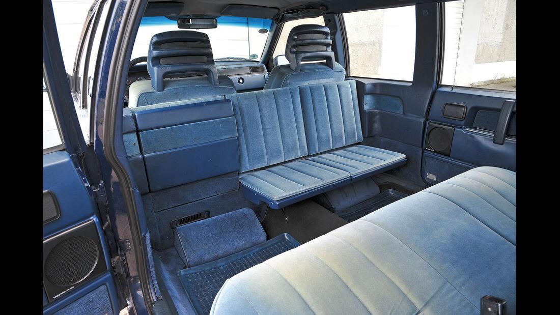 Volvo 760 GLE, Innenraum