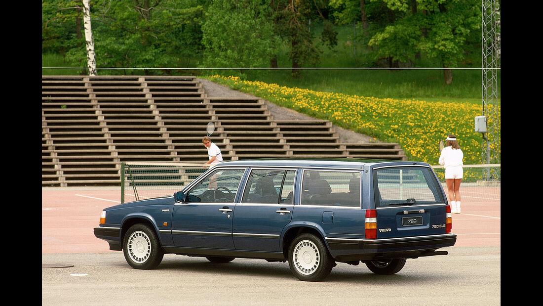 Volvo 760, Heckansicht