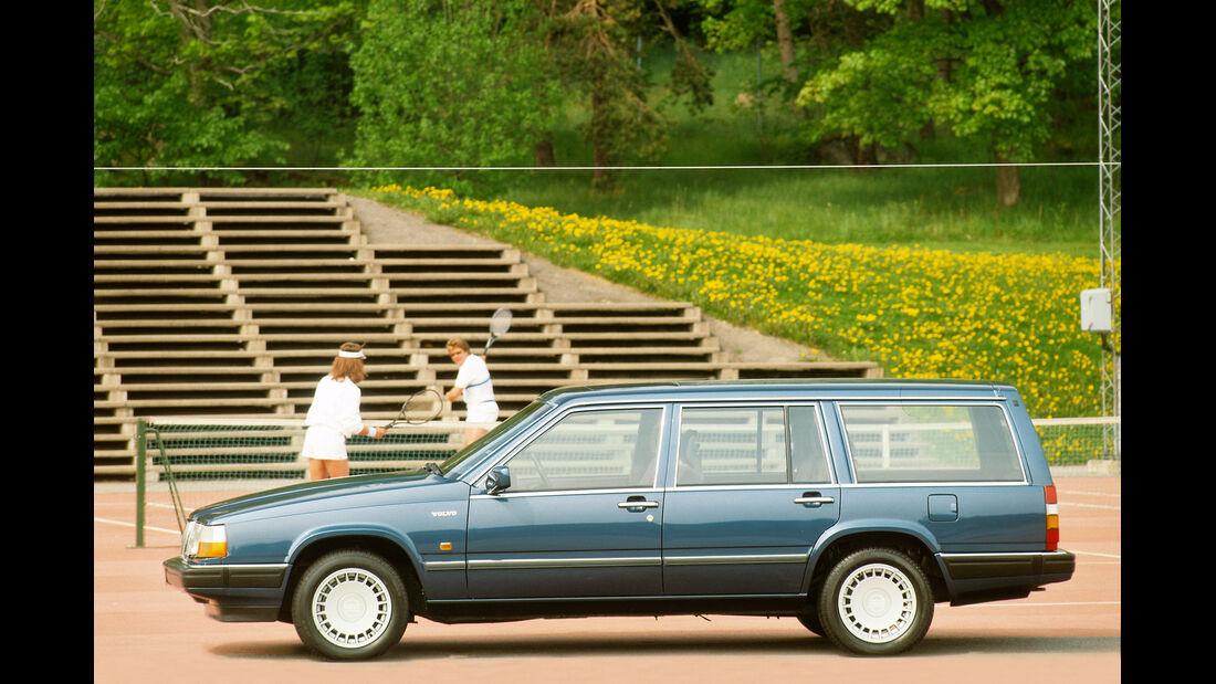 Volvo 760, Seitenansicht