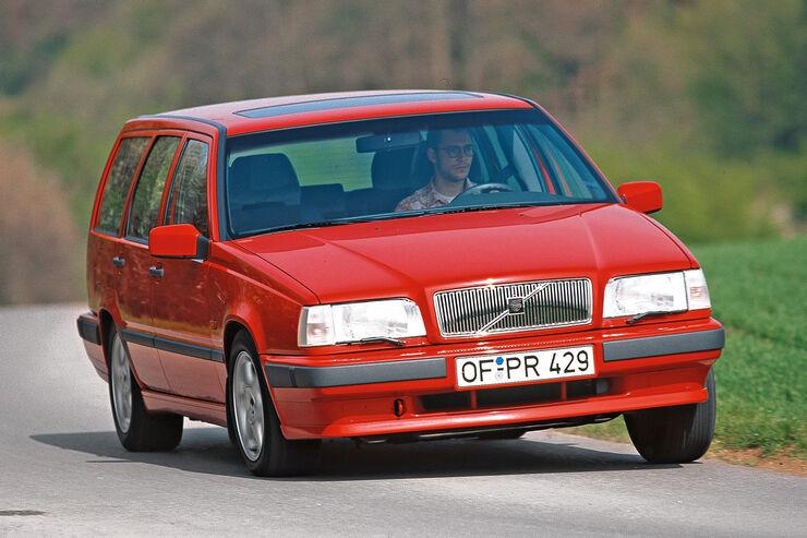 Volvo 850 2.5 20V Kombi, Frontansicht